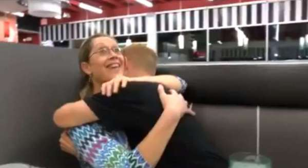 Military Mother Gets a Surprise Visit From Her Son