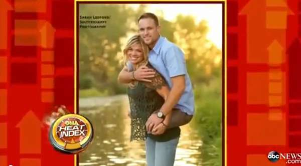 Wife Carries Double Amputee Marine - A True Picture of Love