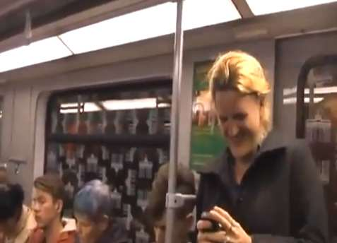 After One Person Laughs on the Subway, Something Wonderful Happens