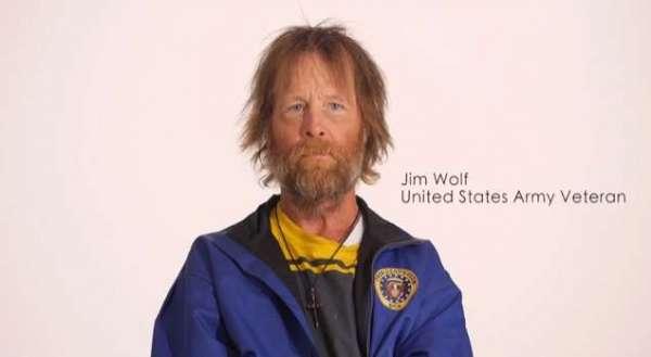 Homeless Veteran Timelapse Transformation