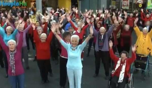 Dancing Seniors Bust a Move
