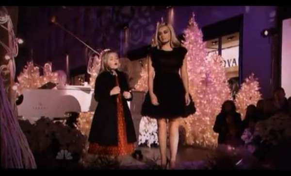 Jackie Evancho Sings a 'Silent Night' Duet with Katherine Jenkins