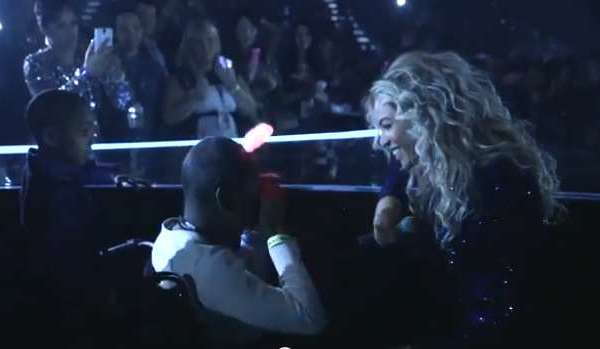 Beyonce grants a wish to a dying girl
