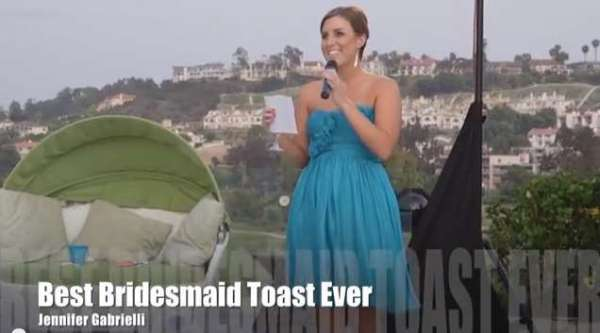 Best Maid of Honor Toast Ever
