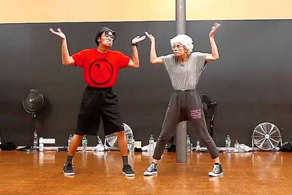 'Elderly' Couple Performs Adorable Dance About Growing Old Together