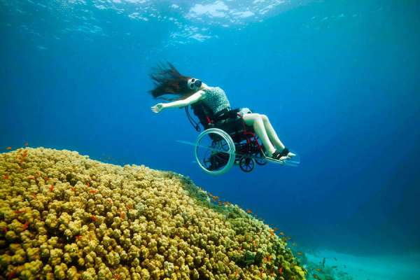 Amazing Underwater Wheelchair Video Challenge Us To Redefine 'Disability'