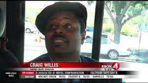 bus driver puts life on the line