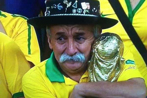 Saddest Brazilian Fan
