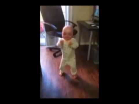 Happy Dancing child