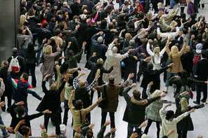 Travelers At Heathrow Get Greeted By A Musical Mob At The Airport