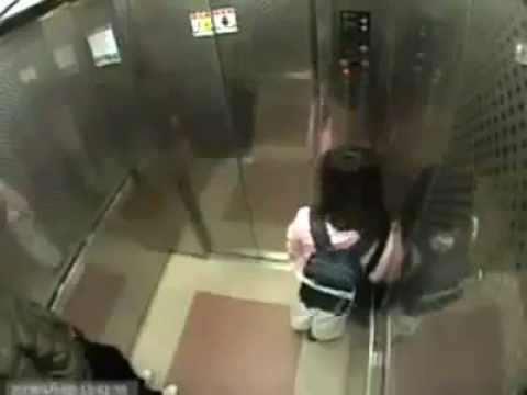 little girl elevator