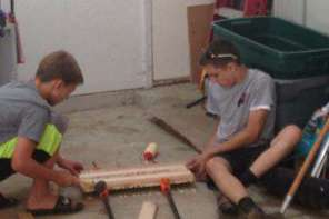 Teen Uses Woodshop To Raise Money To Help Freind's Mother Beat Disease