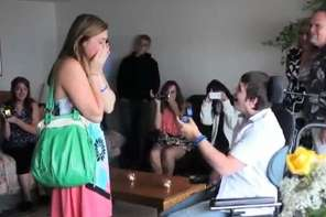 After A Man Wakes Up From A Coma, He Proposes To His Girlfreind