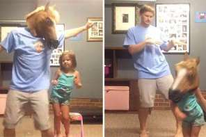 "Daddy And Daughter Dance To ""Shake It Off"" By Taylor Swift"