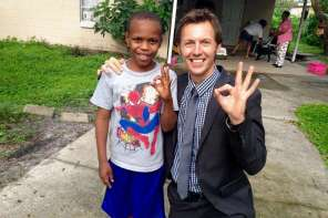 Reporter Reunites Child With His Family