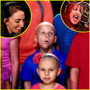 sara-bareilles-cyndi-lauper-child-cancer-patients-truly-brave-video