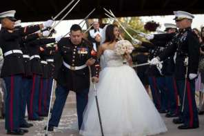 Community Comes Together To Give Triple Amputee Wedding Of His Dreams