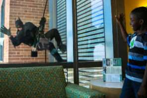 Colorado Swat Team Officers Become Superheroes For A Day At Children's Hospital