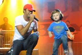 Country Singer's Son Steals The Show