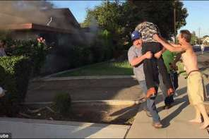 This Fresno Man Rescues An Elderly Man From Inferno: Caught On Video
