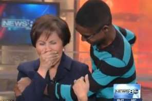 News Anchor Is Brought To Tears When She Is Reunited With Boy She Helped To Get Adopted