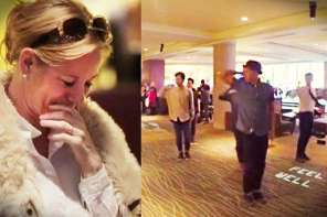 Man Re-Proposes To Wife After 16 Years With Flash Mob