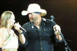 Toby Keith Surprises Woman With Her Returning Soldier Husband