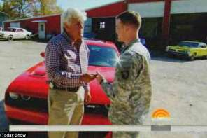 Jay Leno Surprises Soldier With New Car