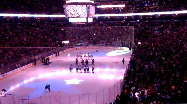 canadians finish anthem
