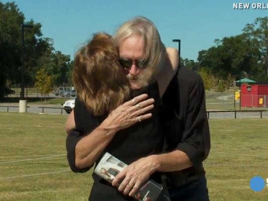 man meets woman who saved his life