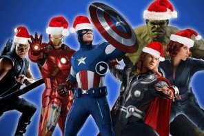 Avengers Sing Christmas Carol