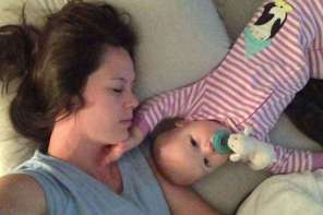Watch What Baby Does While Mom Is Sleeping