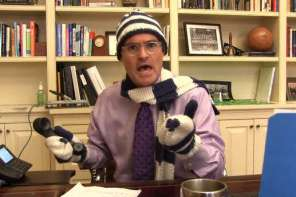 "School Principal Announces Snow Day With Perfect ""Let It Go"" Parody"