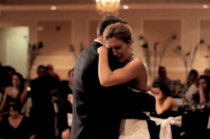 When Bride's Father Died, Brother Arranged A Special Father Daughter Dance