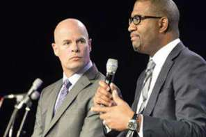 Black And White Pastors Trade Places