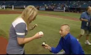 EMT Proposes To Woman He Saved From A Domestic Violence Incident