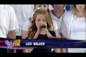 11 Year Old Girl Sings An Amazing Version Of The National Anthem