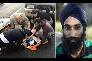 Sikh Man Rewarded for Removing Turban To Help Injured Boy