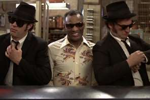 The Blues Brothers Shake Their Tail Feathers