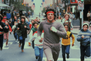Rocky's Iconic Running Scene From Rocky 2