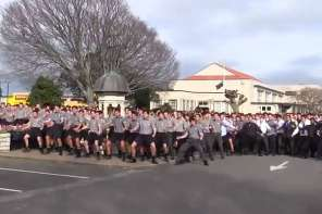 An Entire School Performed This Maori War Dance For The Funeral Of A Beloved Teacher