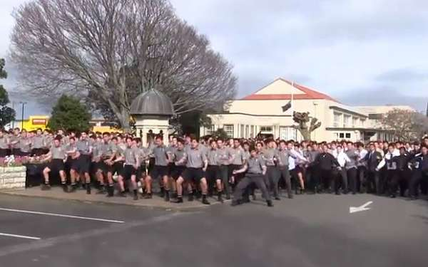 School Haka Dance