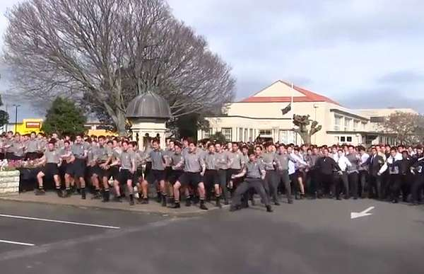 School Haka Dance