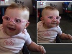 Baby Sees Clearly For First Time