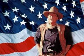 "John Wayne Hosts An All Star Tribute To ""God Bless America"""