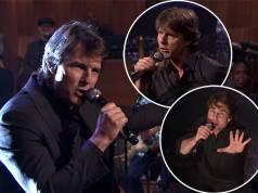 Tom Cruise In Lip sync Battle