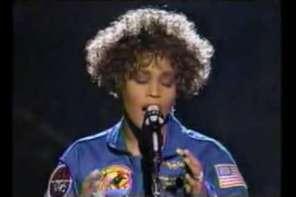 Whitney Houston Sings Star Spangled Banner