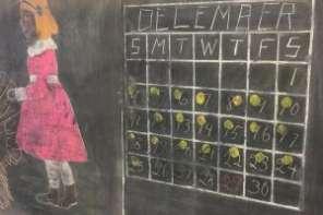 Chalkboards Frozen In Time From 1917