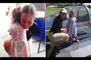 Armless Girl Meets First Armless Pilot