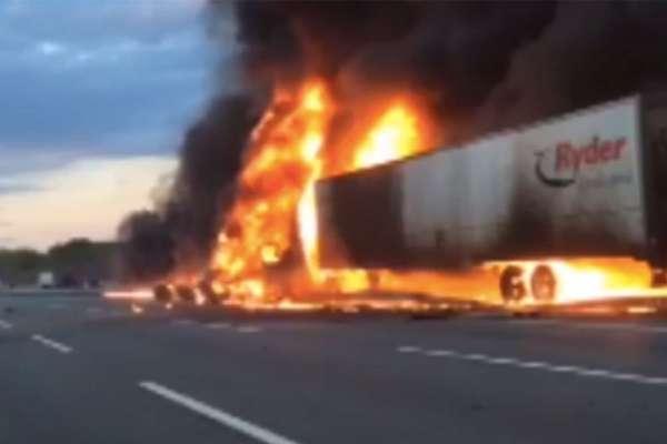 australians save truck driver 2